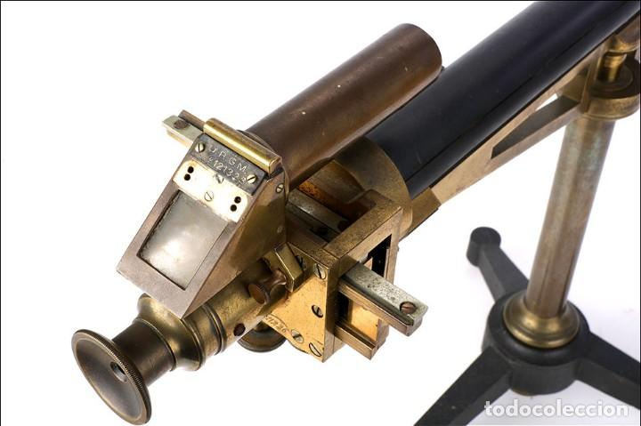 Antigüedades: Antiguo Polarímetro de Gran Tamaño Schmidt & Haensch. Alemania, 1885 - Foto 11 - 166003710