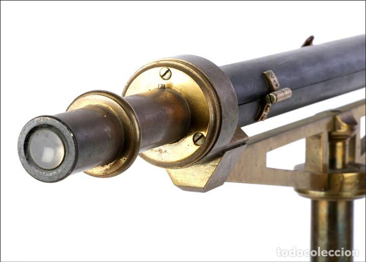 Antigüedades: Antiguo Polarímetro de Gran Tamaño Schmidt & Haensch. Alemania, 1885 - Foto 22 - 166003710