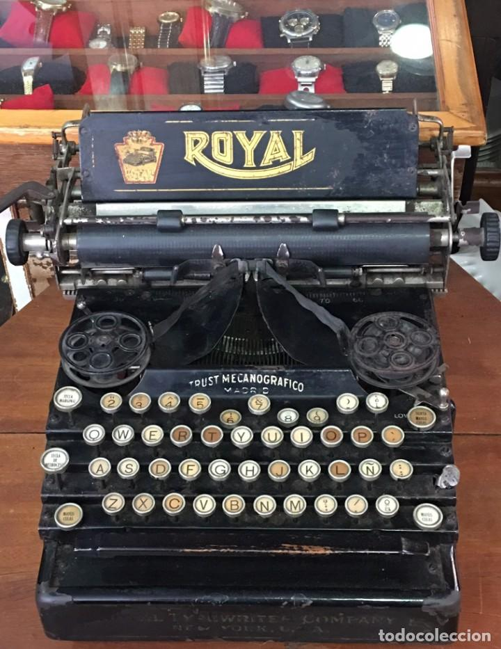 MAQUINA DE ESCRIBIR ROYAL NEW YORK (Antigüedades - Técnicas - Máquinas de Escribir Antiguas - Royal)