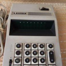 Antigüedades: CALCULADORA ELECTRICA SANYO MODEL ICC - 805. Lote 166097338
