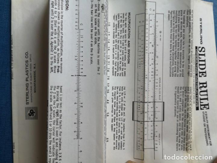 Antigüedades: Antigua regla de cálculo sterling N. 587 - Foto 6 - 166146662
