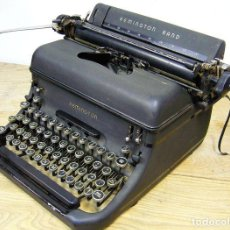Antigüedades: MAQUINA REMINGTON RAND. Lote 166180934