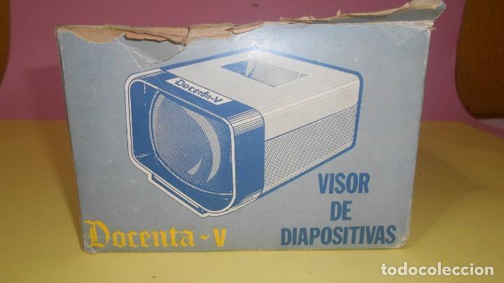 Antigüedades: VISOR DE DIAPOSITIVAS MARCA DOCETAN-V MADE IN SPAIN ¡¡ENVIO 4,30 EUROS CERTIFICADO !! - Foto 3 - 166244670