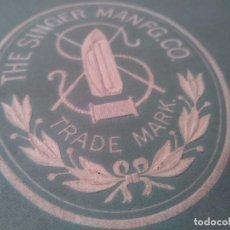 Antigüedades: SINGER INSTRUCCIONES MÁQUINA DE COSER 1929. Lote 166277790