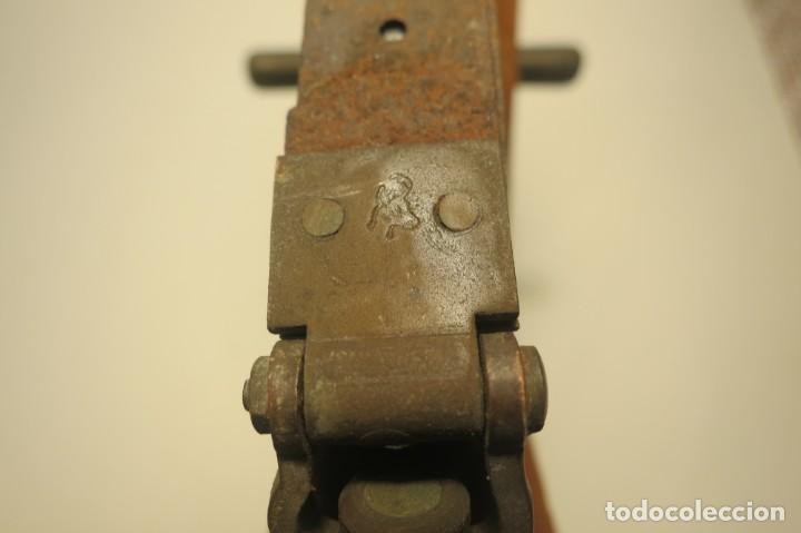 Antigüedades: Doble Decametro 20 metros 1900 - Foto 3 - 166315794