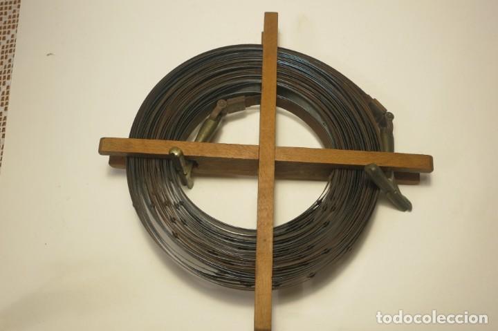 Antigüedades: Doble Decametro 20 metros 1900 - Foto 7 - 166315794