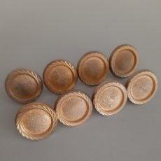 Antigüedades: TIRADORES ANTIGUOS / POMOS / TIRADORES DORADOS. Lote 166317661