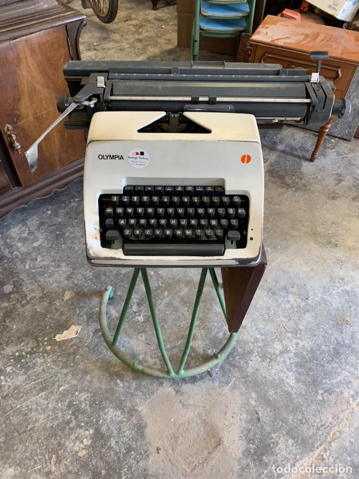 MÁQUINA DE ESCRIBIR OLYMPIA INTERNATIONAL (Antigüedades - Técnicas - Máquinas de Escribir Antiguas - Olympia)