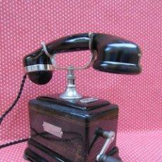 Teléfonos: ANTIGUO TELEFONO DE MAGNETO DE LA MARCA L. M. ERICSSON (FRANCIA) AÑO 1931.. Lote 166697950