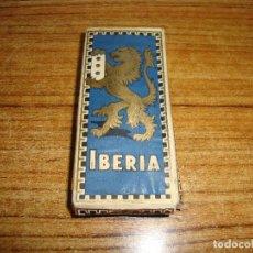 Antigüedades: (TC-201/19) MAQUINILLA DE AFEITAR IBERIA EN CAJA Y CON EL EMBOLTORIO INTERIOR NUEVO VER FOTOS. Lote 166847326