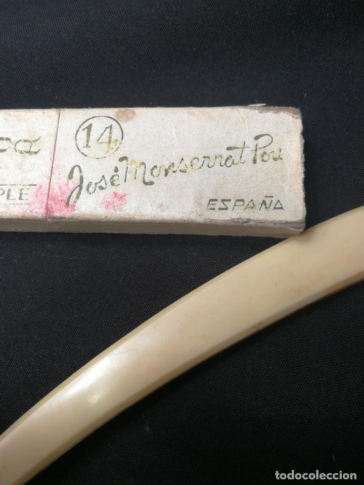 Antigüedades: NAVAJA DE AFEITAR FILARMONICA DOBLE TEMPLE,CON CAJA ORIGINAL,JOSE MONTSERRAT POU - Foto 3 - 166904780