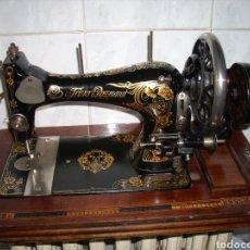Antiquités: MAGNIFICA MAQUINA DE COSER , FRISTER & ROSSMANN ( MUY BUEN ESTADO). Lote 166919722