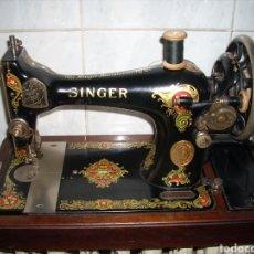 Antigüedades: ANTIGUA MAQUINA DE COSER , SINGER ,MUY BUEN ESTADO, FUNCIONA.. Lote 166920545