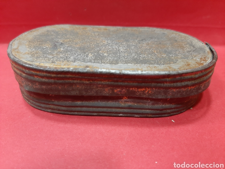 Antigüedades: RARA BALANZA EN CAJA DE METAL - Foto 5 - 167044010