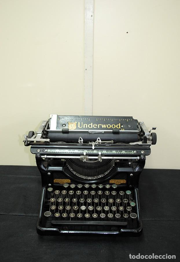 MÁQUINA DE ESCRIBIR ANTIGUA UNDERWOOD (Antigüedades - Técnicas - Máquinas de Escribir Antiguas - Underwood)