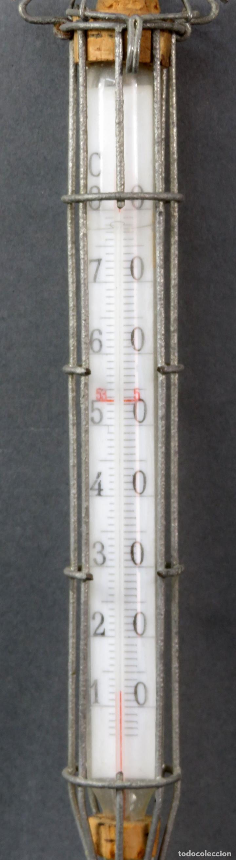 Antigüedades: Termómetro profesional de Material Avícola años 60 - Foto 2 - 167098496