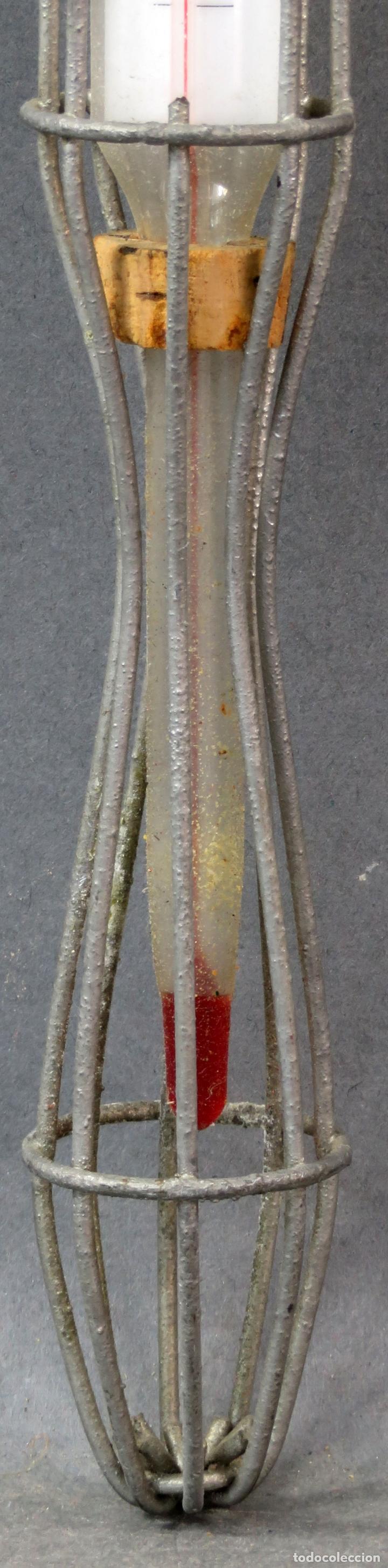 Antigüedades: Termómetro profesional de Material Avícola años 60 - Foto 3 - 167098496