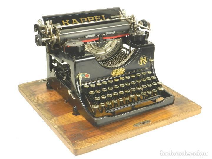 MAQUINA DE ESCRIBIR KAPPEL Nº1 AÑO 1920 TYPEWRITER SCHREIBMASCHINE (Antigüedades - Técnicas - Máquinas de Escribir Antiguas - Otras)