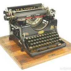 Antigüedades: MAQUINA DE ESCRIBIR KAPPEL Nº1 AÑO 1920 TYPEWRITER SCHREIBMASCHINE. Lote 167132188