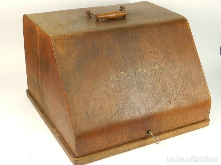 Antigüedades: MAQUINA DE ESCRIBIR KAPPEL Nº1 AÑO 1920 TYPEWRITER SCHREIBMASCHINE - Foto 2 - 167132188
