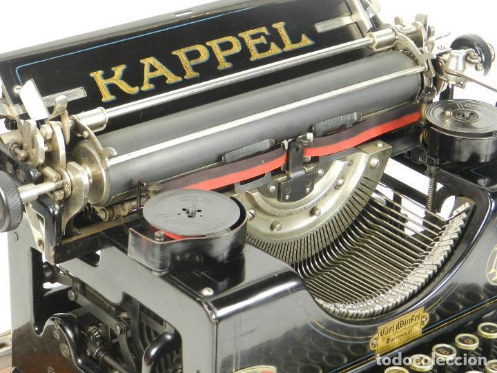 Antigüedades: MAQUINA DE ESCRIBIR KAPPEL Nº1 AÑO 1920 TYPEWRITER SCHREIBMASCHINE - Foto 6 - 167132188