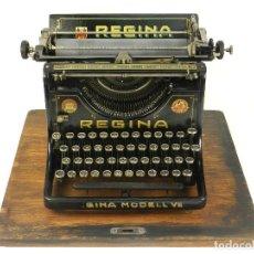 Antigüedades: MAQUINA DE ESCRIBIR REGINA MODEL VII AÑO 1923 TYPEWRITER SCHREIBMASCHINE. Lote 167147180