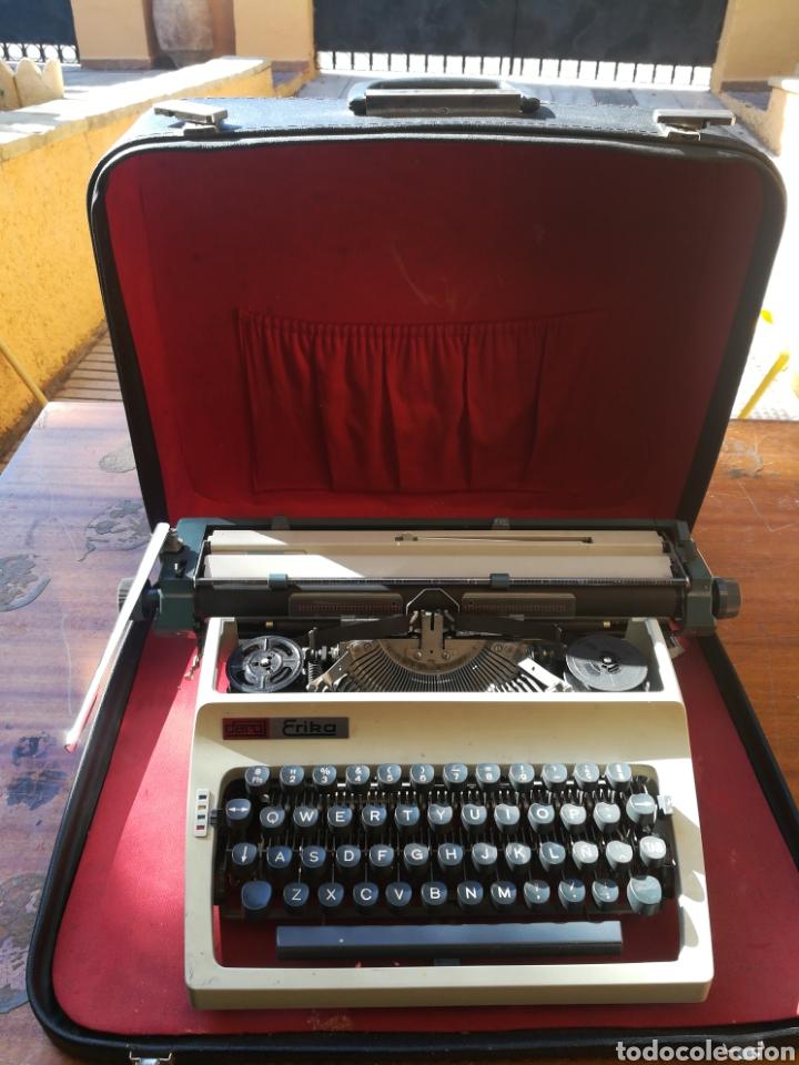 Antigüedades: Máquina de escribir Alemana, marca Erika. - Foto 2 - 167149974