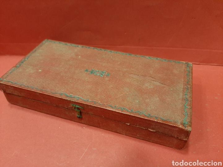 Antigüedades: BALANZA ANTIGUA COMPLETA DE PESAS. - Foto 4 - 167164177