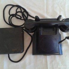Teléfonos: ANTIGUO TELEFONO DE BAQUELITA ERICSSON CON MAGNETO. Lote 167270724