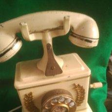 Teléfonos: MAGNIFICO Y ANTIGUO TELÉFONO DE MAGNETO FUNCIONANDO AÑO 1905 1910. Lote 167377900