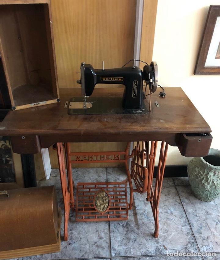 MÁQUINA DE COSER WERTHEIM (Antigüedades - Técnicas - Máquinas de Coser Antiguas - Wertheim )