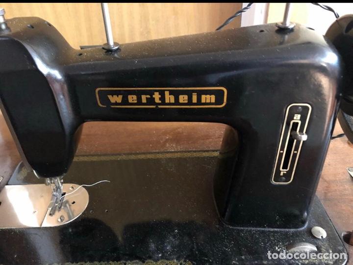 Antigüedades: Máquina de coser Wertheim - Foto 2 - 167388469