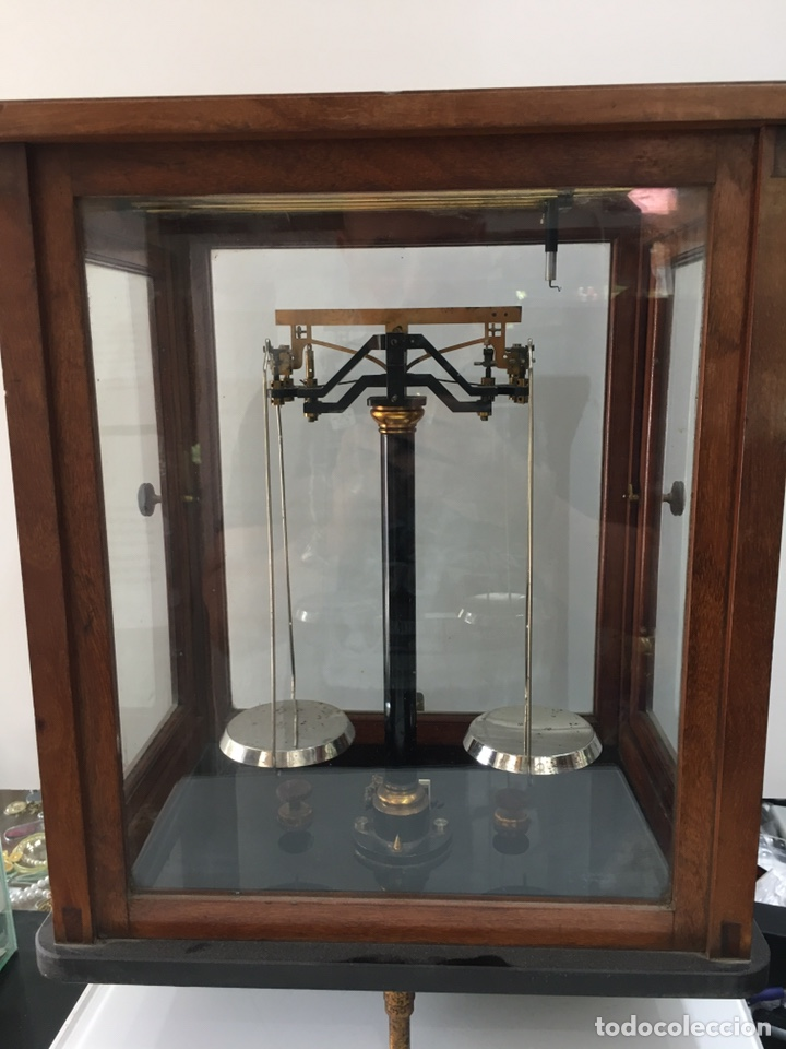 Antigüedades: BALANZA DE PRECISION F.SARTORIUS GOTTINGEN-AÑOS 30 - Foto 8 - 167455408