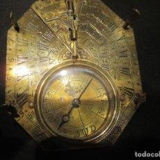 Antigüedades: BRUJULA,RELOJ DE SOL Y MERIDIANOS,DEL 1700. Lote 167614972