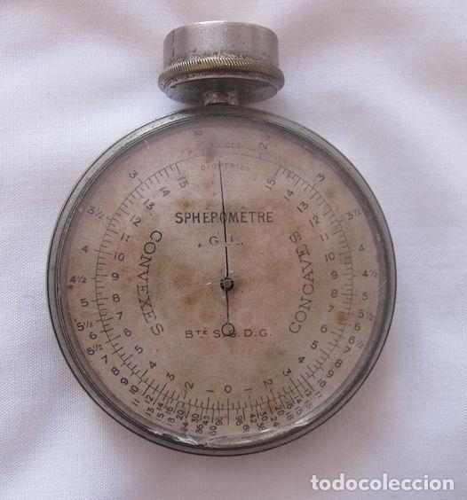 ESFEROMETRO ANTIGUO PARA MEDIR DIOPTRIAS INSTRUMENTO DE OPTICO (Antigüedades - Técnicas - Otros Instrumentos Ópticos Antiguos)