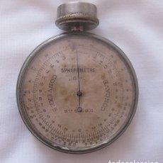Antigüedades: ESFEROMETRO ANTIGUO PARA MEDIR DIOPTRIAS INSTRUMENTO DE OPTICO. Lote 167624204