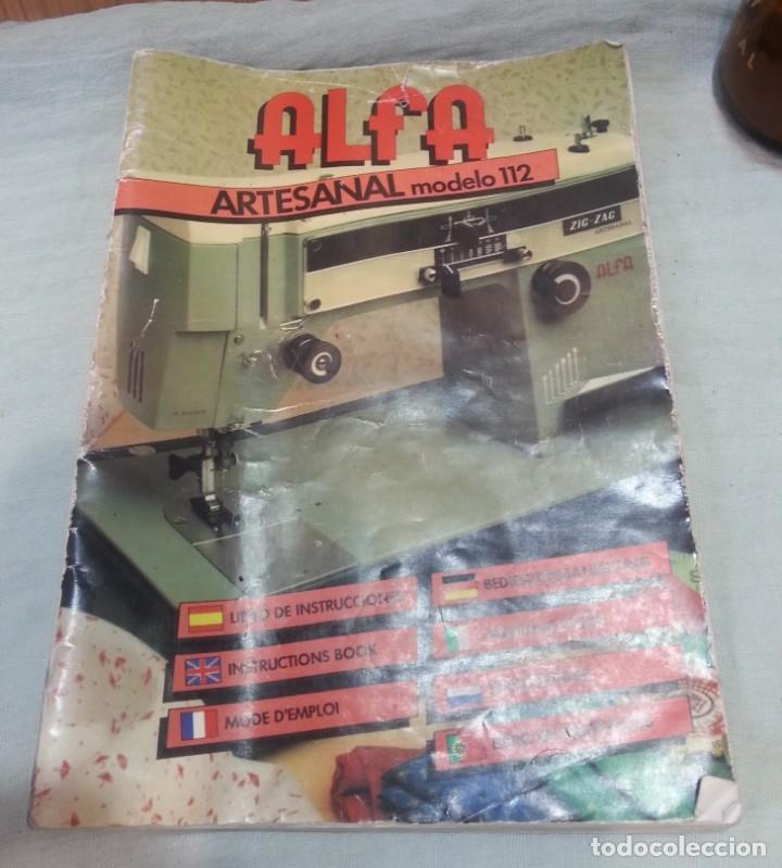 manual de instrucciones de máquina coser alfa m - Comprar