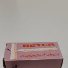 Antigüedades: MAQUINILLA DE AFEITAR BETER EN CAJA. Lote 167729944