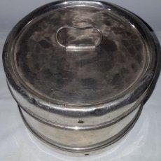 Antigüedades: ANTIGUO RECIPIENTE MEDICO PARA ALGODONES Y GASAS. Lote 167741944