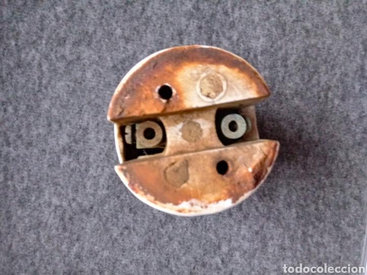 Antigüedades: Casquillo portalámparas cerámico E40, para Rosca Edison Gigante. Farola - Foto 4 - 167767110