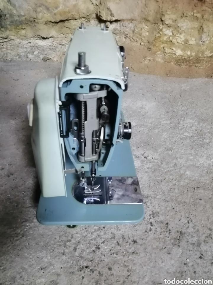 Antigüedades: Máquina de coser alfa modelo 108 - Foto 4 - 167770968