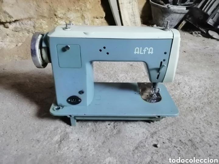 Antigüedades: Máquina de coser alfa modelo 108 - Foto 5 - 167770968