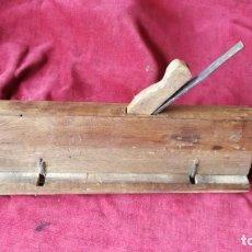 Antigüedades: GARLOPA DE CARPINTERO. Lote 167804516
