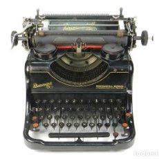 Antigüedades: MAQUINA DE ESCRIBIR RHEINMETALL AÑO 1936 TYPEWRITER SCHREIBMASCHINE. Lote 167829100