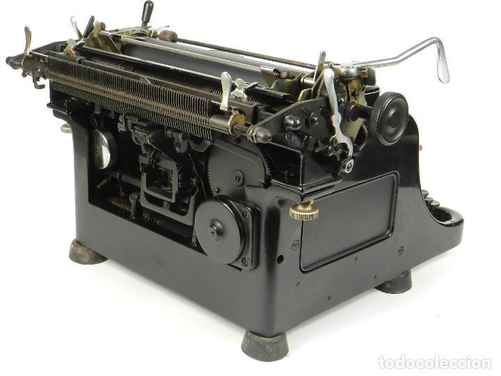 Antigüedades: MAQUINA DE ESCRIBIR RHEINMETALL AÑO 1936 TYPEWRITER SCHREIBMASCHINE - Foto 6 - 167829100