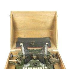 Antiquités: MAQUINA DE ESCRIBIR OLIVER Nº10 AÑO 1915 TYPEWRITER SCHREIBMASCHINE. Lote 167882432