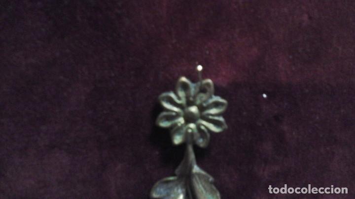 Antigüedades: Adorno -embellecedor en bronce . Años 50 ó60 - Foto 2 - 167901686