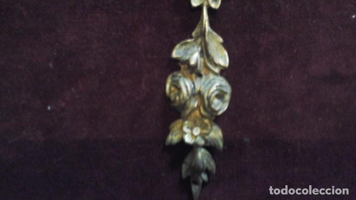 Antigüedades: Adorno -embellecedor en bronce . Años 50 ó60 - Foto 3 - 167901686