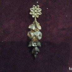 Antigüedades: ADORNO -EMBELLECEDOR EN BRONCE . AÑOS 50 Ó60. Lote 167901686