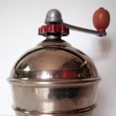 Antigüedades: MOLINILLO DE CAFÉ MARCA MOUCAF. MODELO ROND. FRANCIA CA. 1950. Lote 167910592
